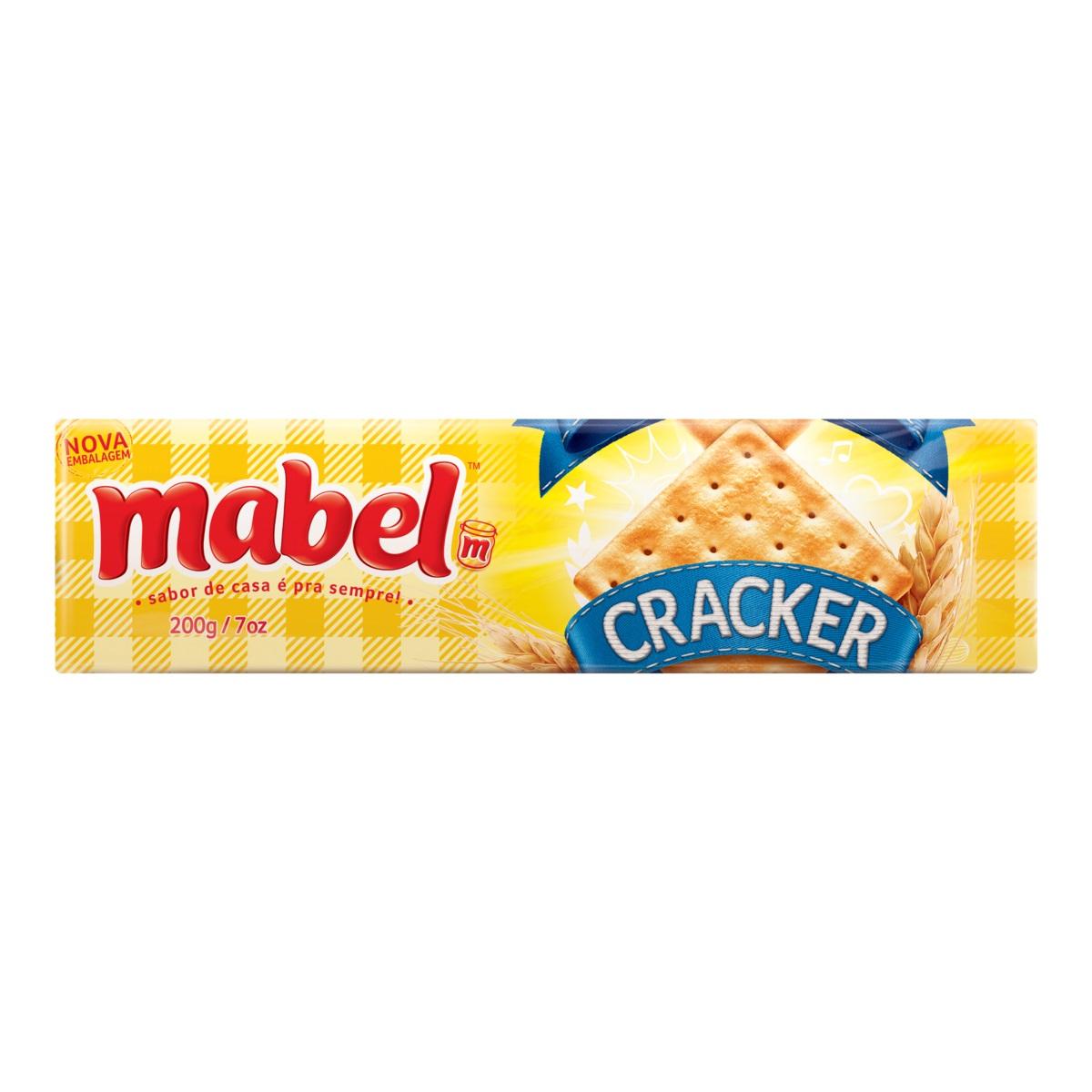 MABEL CREAM CRACKER 200 GR CX C/30