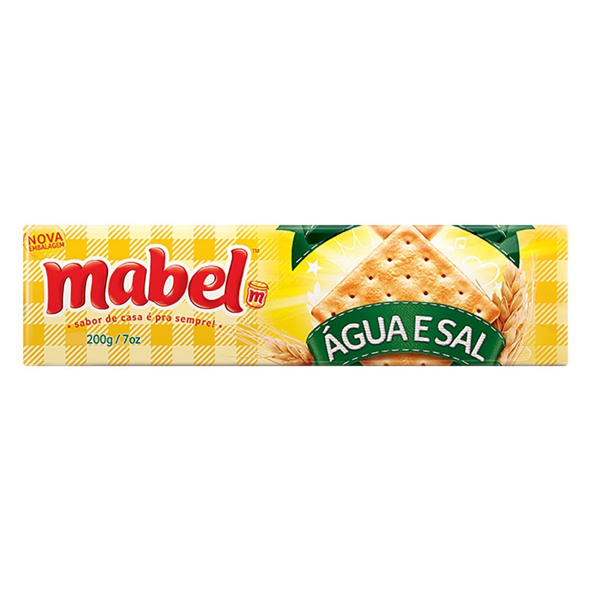 MABEL AGUA SAL 200 GR CX C/30