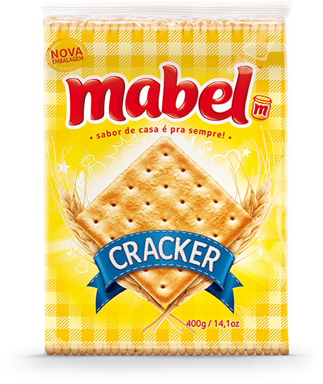 MABEL CREAM CRACKER 400 GR CX C/20
