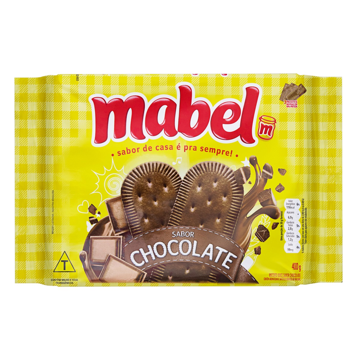 MABEL CHOCOLATE 400 GR CX C/21