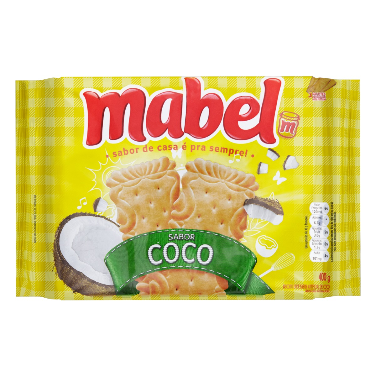 MABEL COCO 400GR CX/21