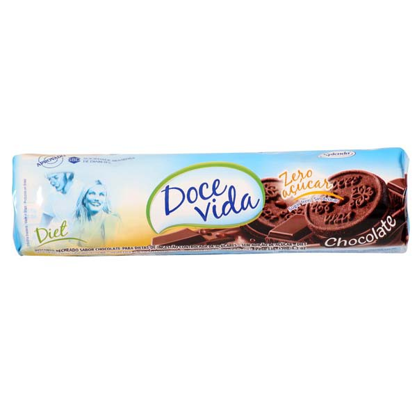 DOCE VIDA RECH. CHOCOLATE 120GR CX C/30