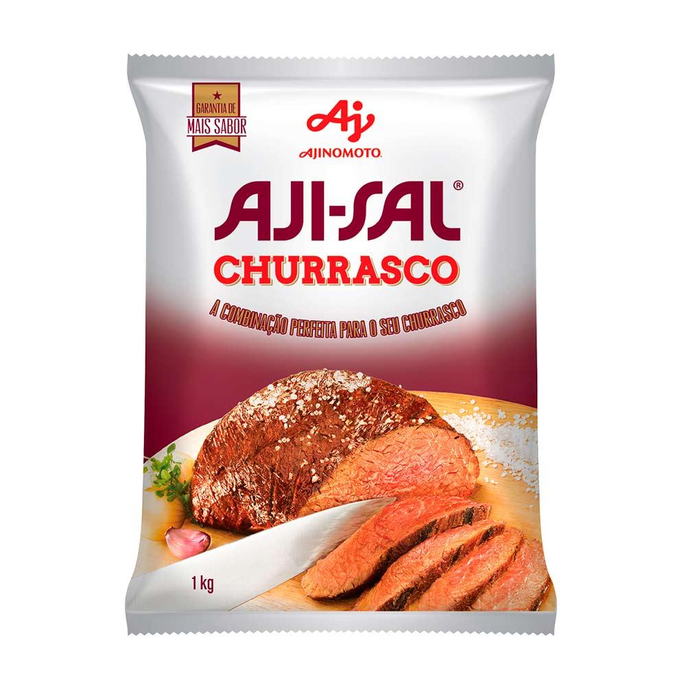 AJI SAL CHURRASCO 1 KG SACO CX/12