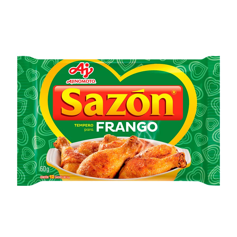 SAZON VERDE 60GR CX/48