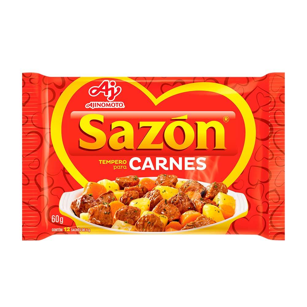 SAZON VERMELHO 60GR CX/48
