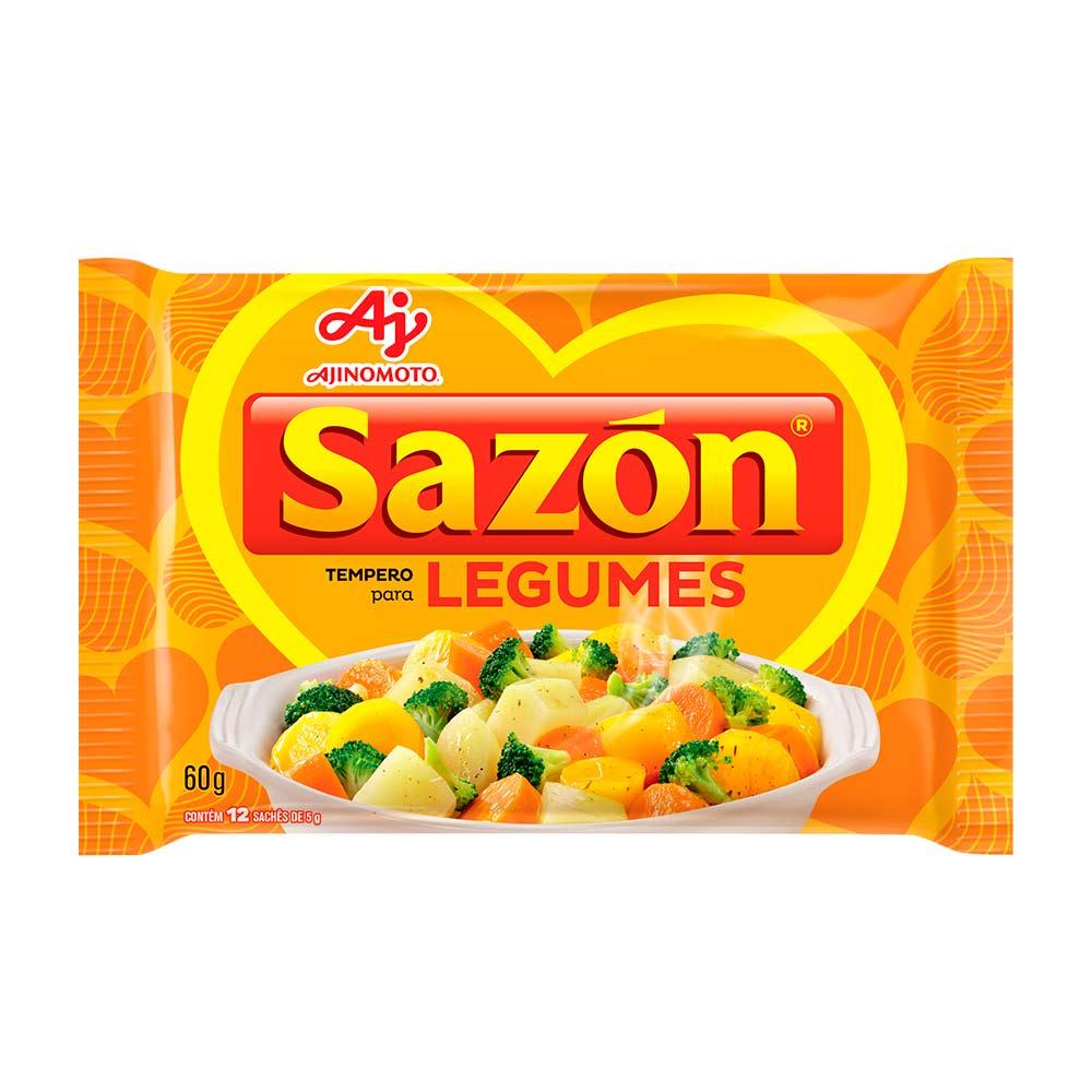SAZON AMARELO 60GR CX/48