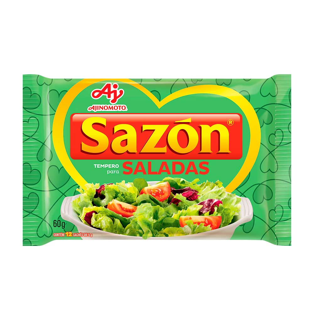 SAZON SALADA 60GR CX/48