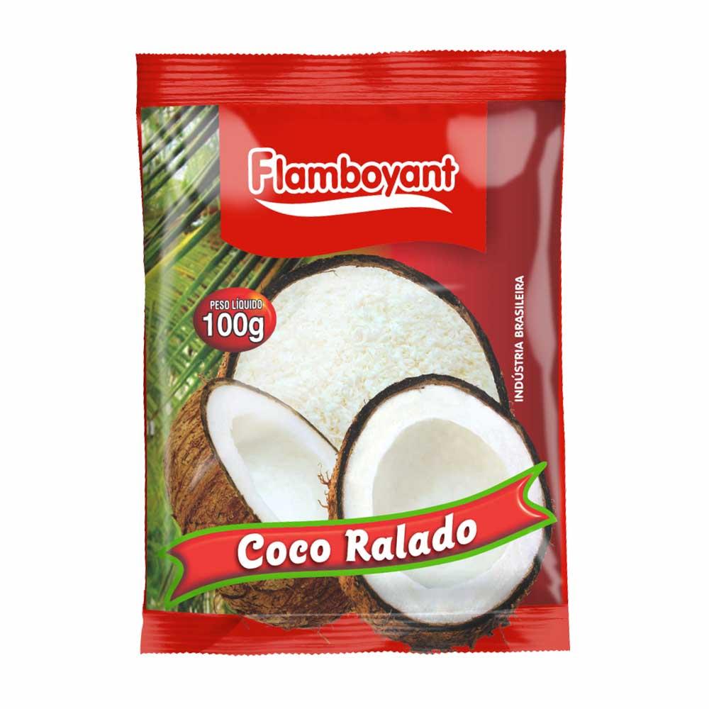 FLAMB COCO RALADO 100 GR CX/24