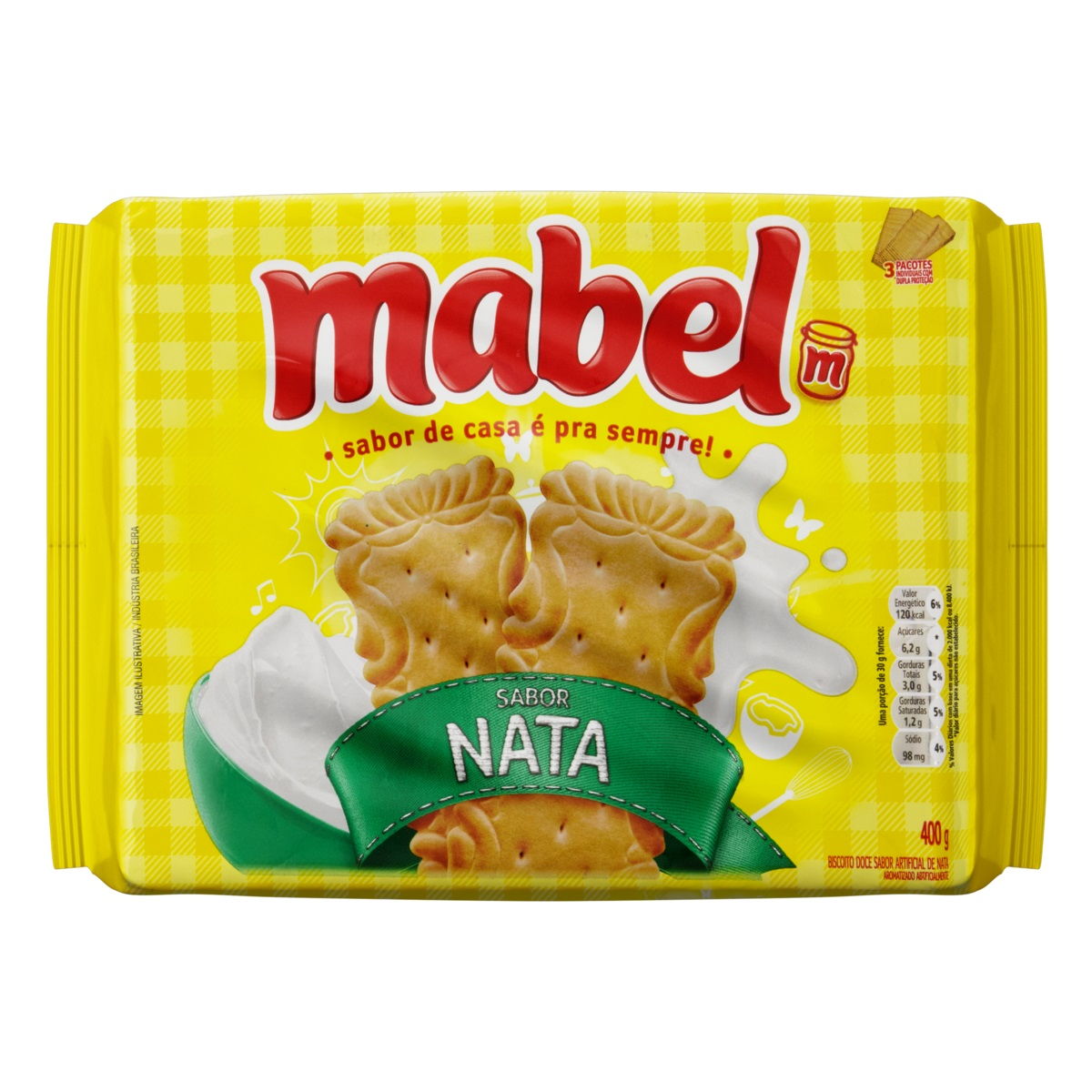 MABEL NATA 400 GR CX/21