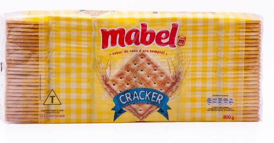 MABEL CREAM CRACKER 800 GR CX/15