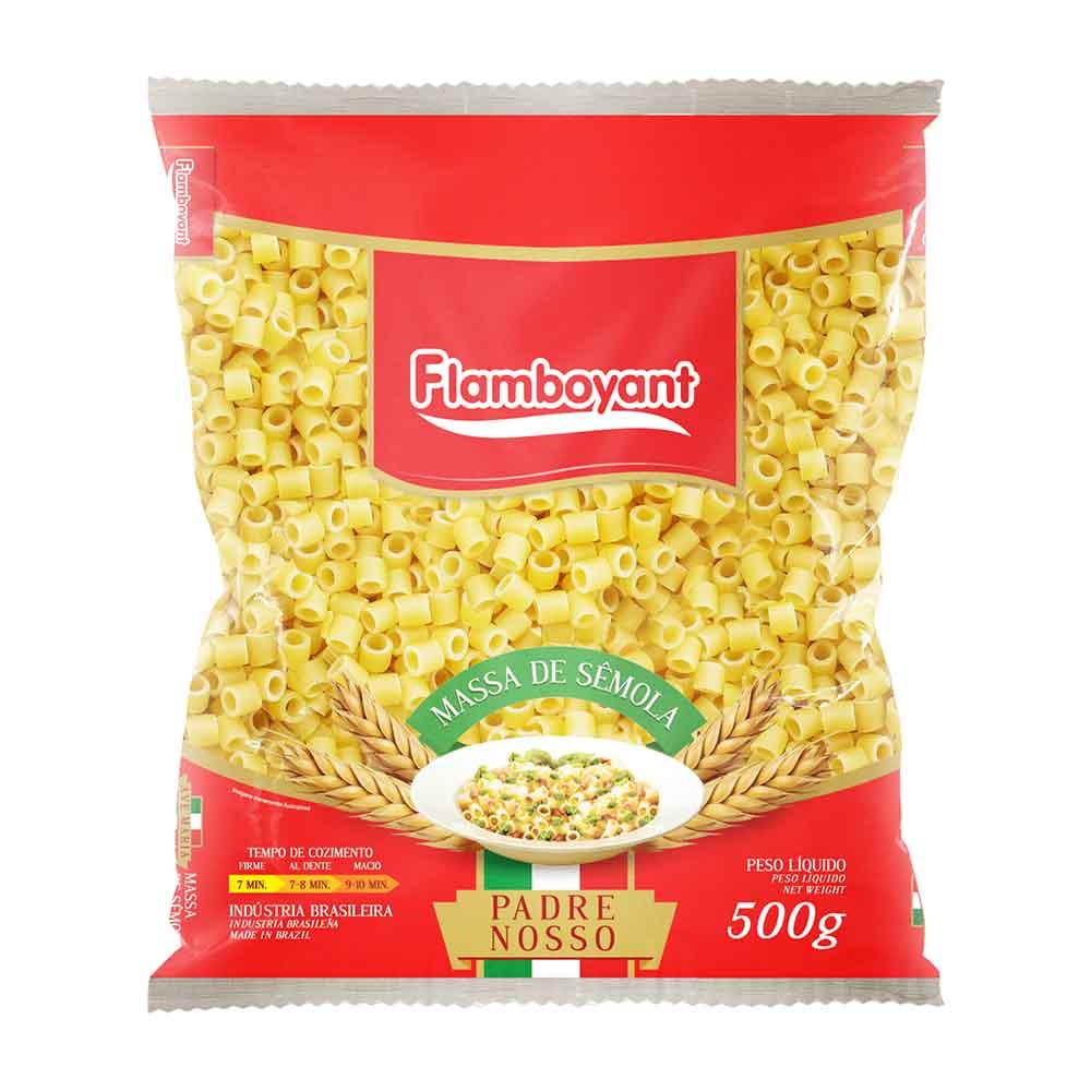 FLAMB MASSA PAD/NOSSO SEMOLA 500GR FD/24