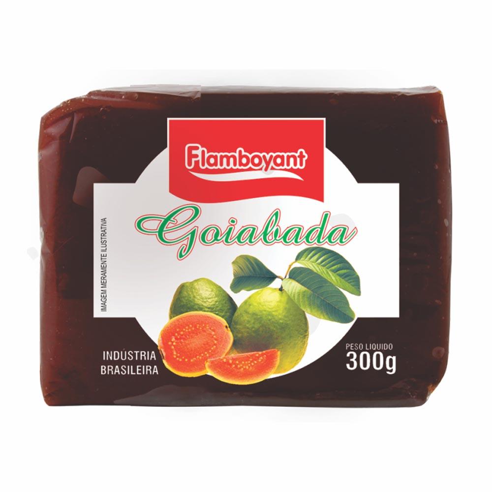 FLAMB GOIABADA TABLETE 300GR CX/24