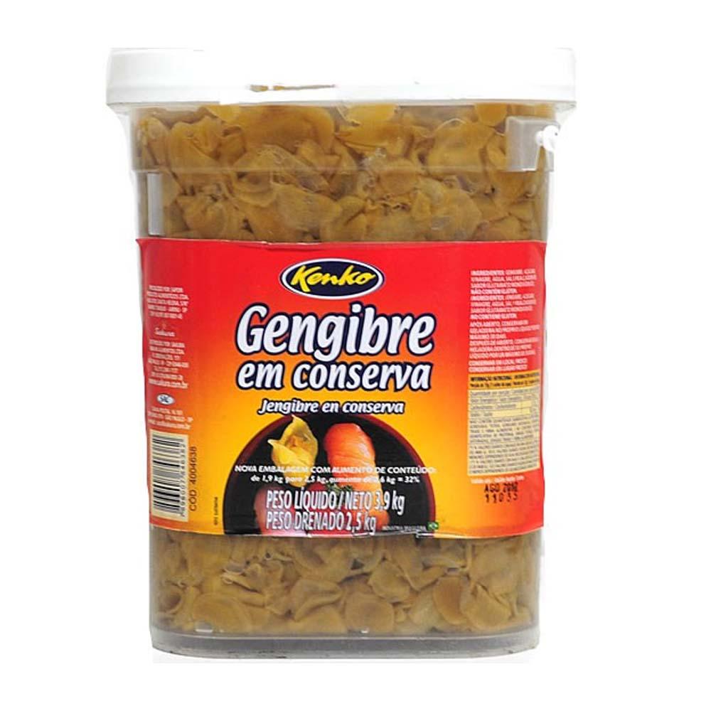 GENGIBRE CONS. KENKO 2,5 KG BALDE