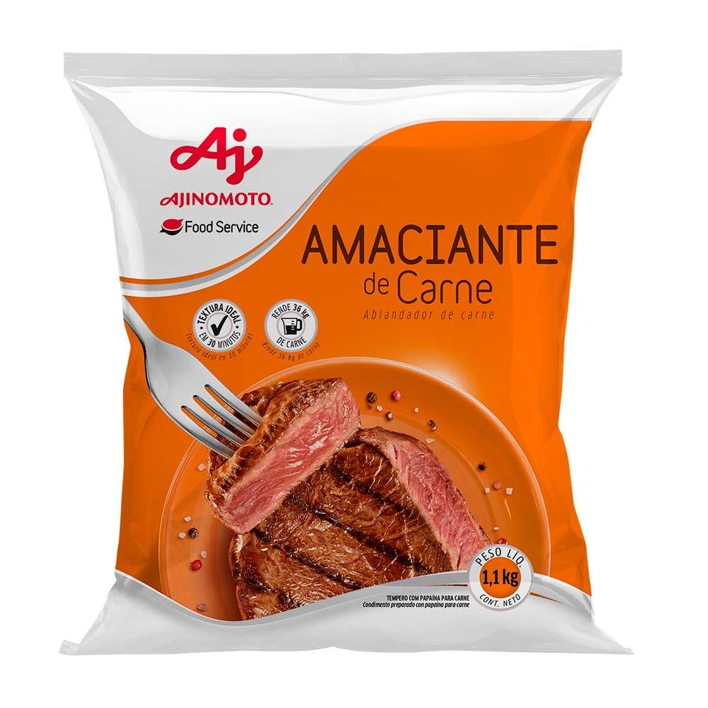 AMACIANTE CARNE AJINOMOTO 1,100 KG CX/06