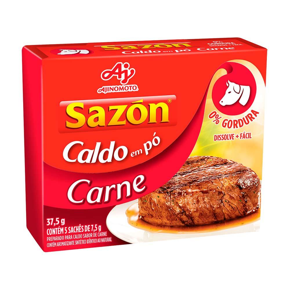 SAZON CALDO CARNE DP5X7,5GR CX/48