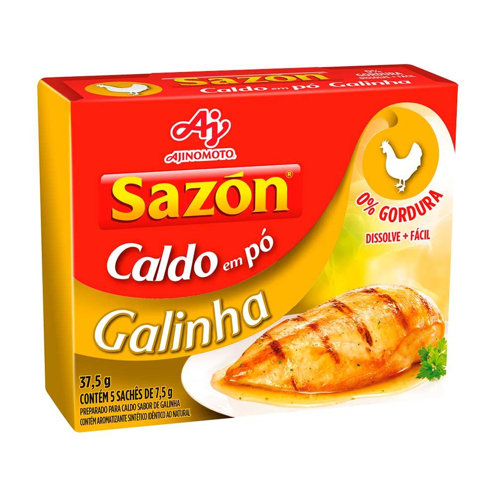SAZON CALDO GALINHA DP5X7,5GR CX/48