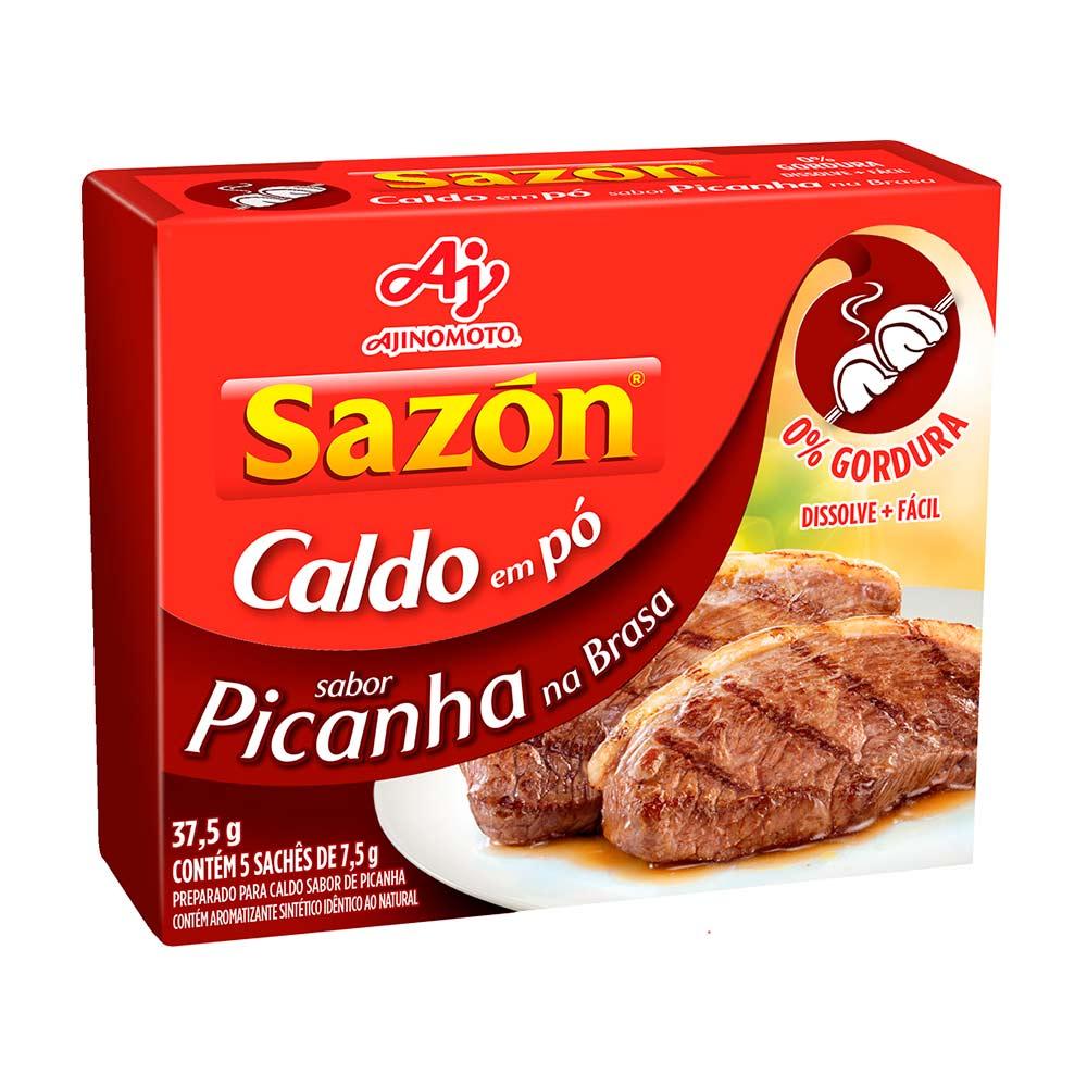 SAZON CALDO PICANHA/BRASA 5X7,5GR CX/48