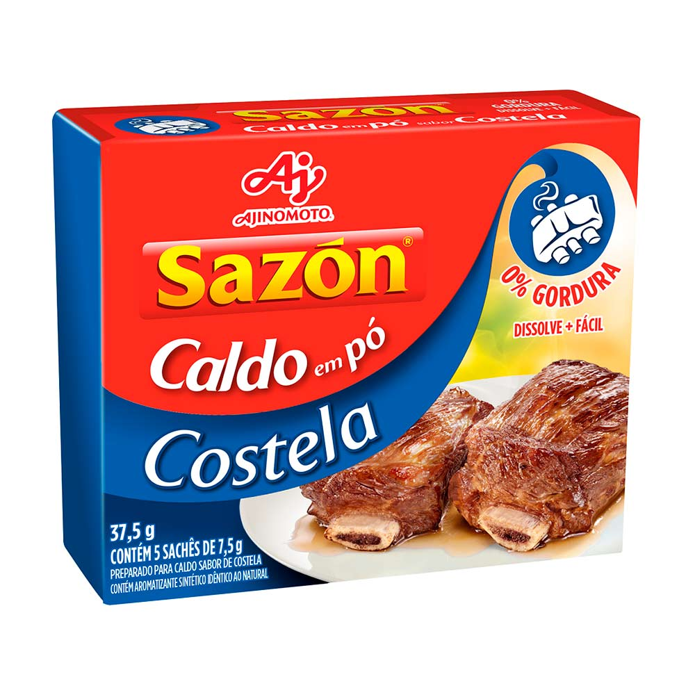 SAZON CALDO COSTELA DP5X7,5GR CX/48