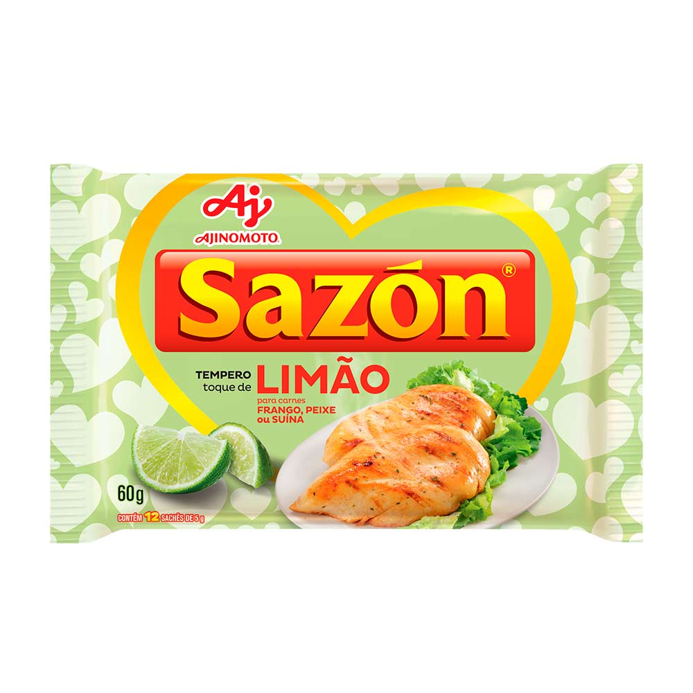 SAZON TOQUE LIMAO 60GR CX/48
