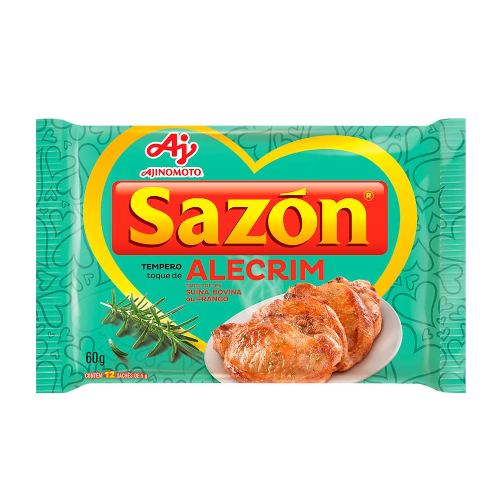 SAZON TOQUE ALECRIM 60GR CX/48