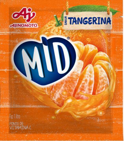 MID REF. TANGERINA 15X25GR CX/8