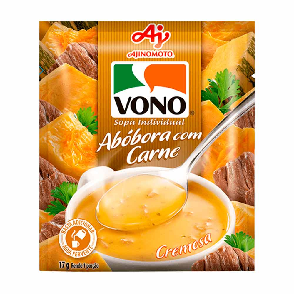 VONO ABOBORA/CARNE DP23X17GR CX/4