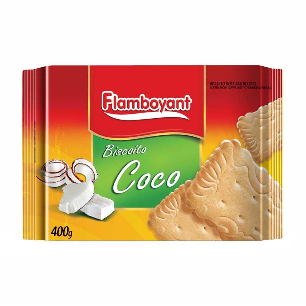 FLAMB BISC COCO 400GRS CX/20