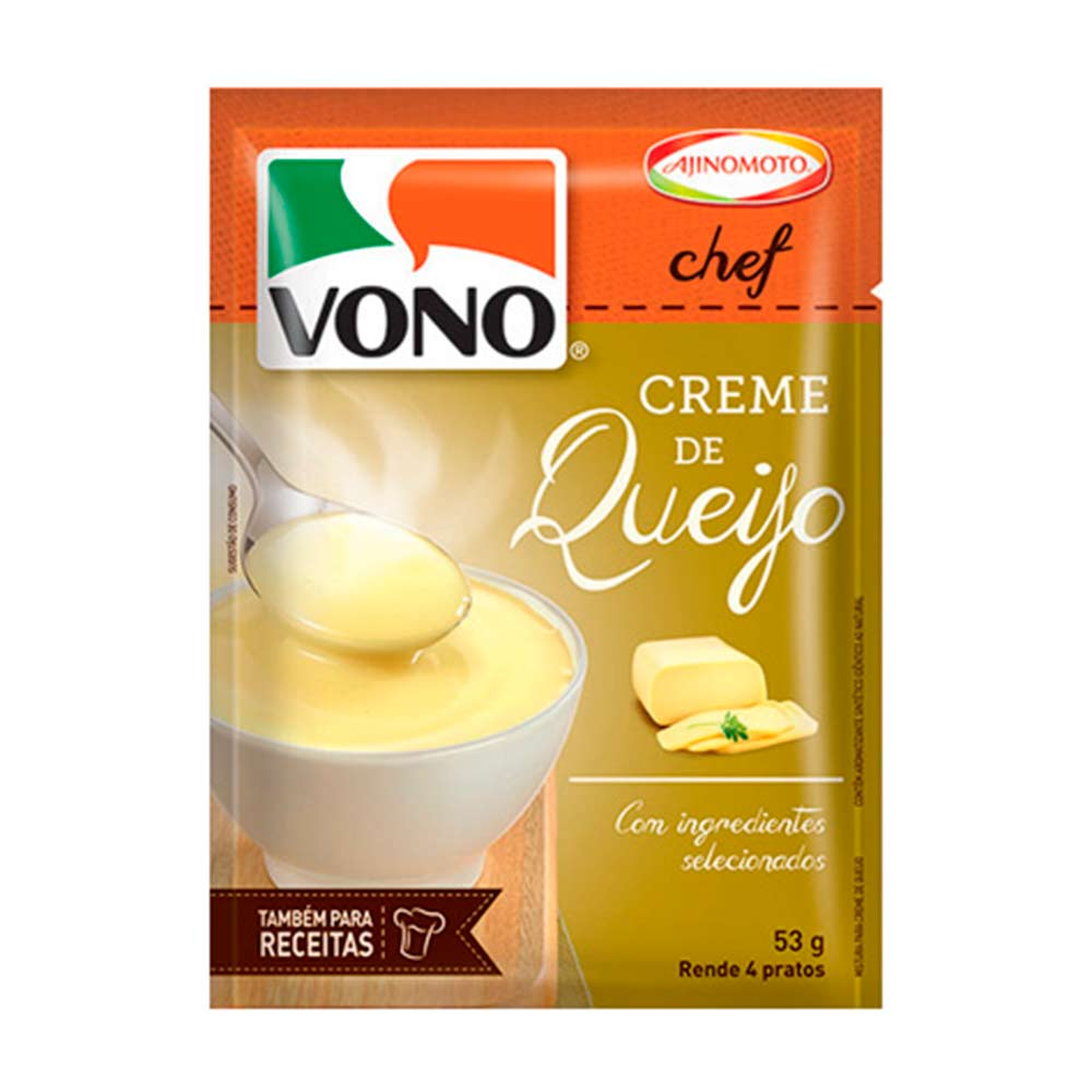 VONO CREME DE QUEIJO DP12X53G CX/2