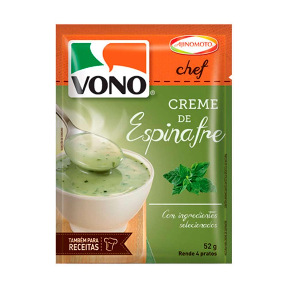 VONO CREME ESPINAFRE DP12X52G CX/2