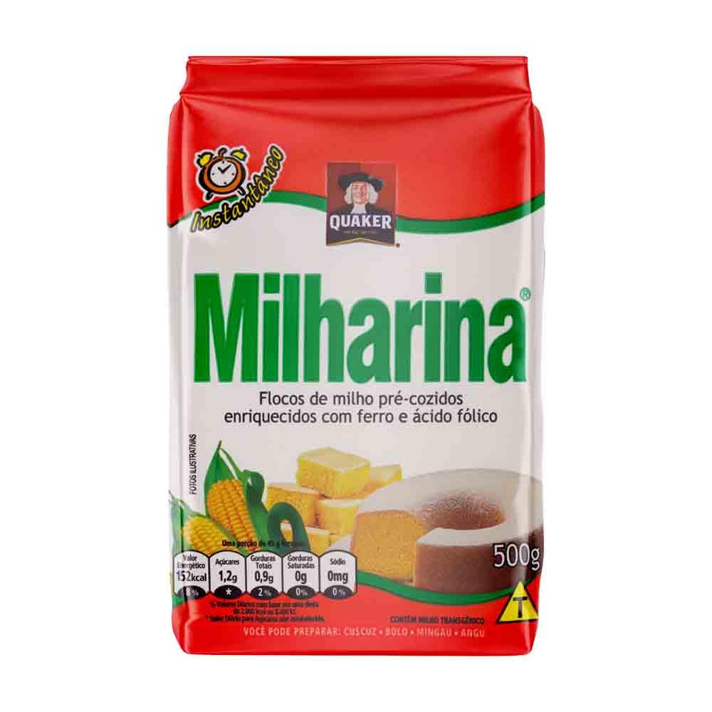 QUAKER MILHARINA 500GR FD/30