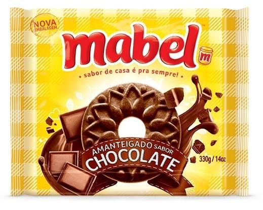 MABEL AMANTEIGADO CHOCOLATE 330GR CX/32