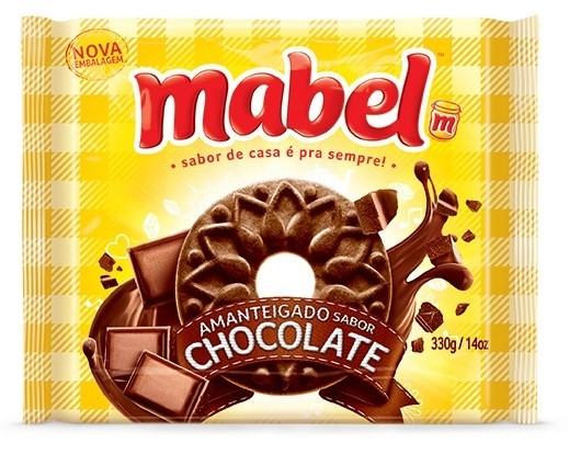 MABEL AMANTEIGADO CHOCOLATE 330GR CX/32