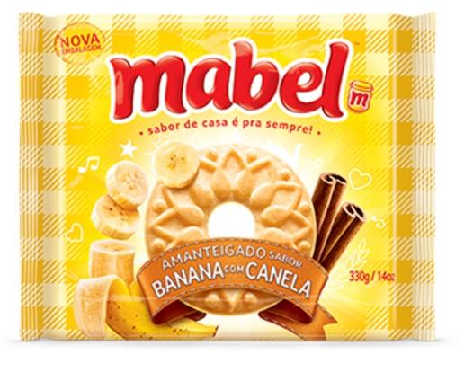 MABEL AMANTEIGADO BAN/CANELA 330GR CX/32