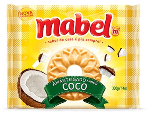 MABEL AMANTEIGADO COCO 330GR CX/32