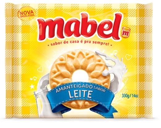 MABEL AMANTEIGADO LEITE 330GR CX/32