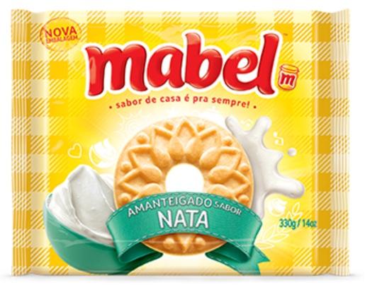 MABEL AMANTEIGADO NATA 330GR CX/32