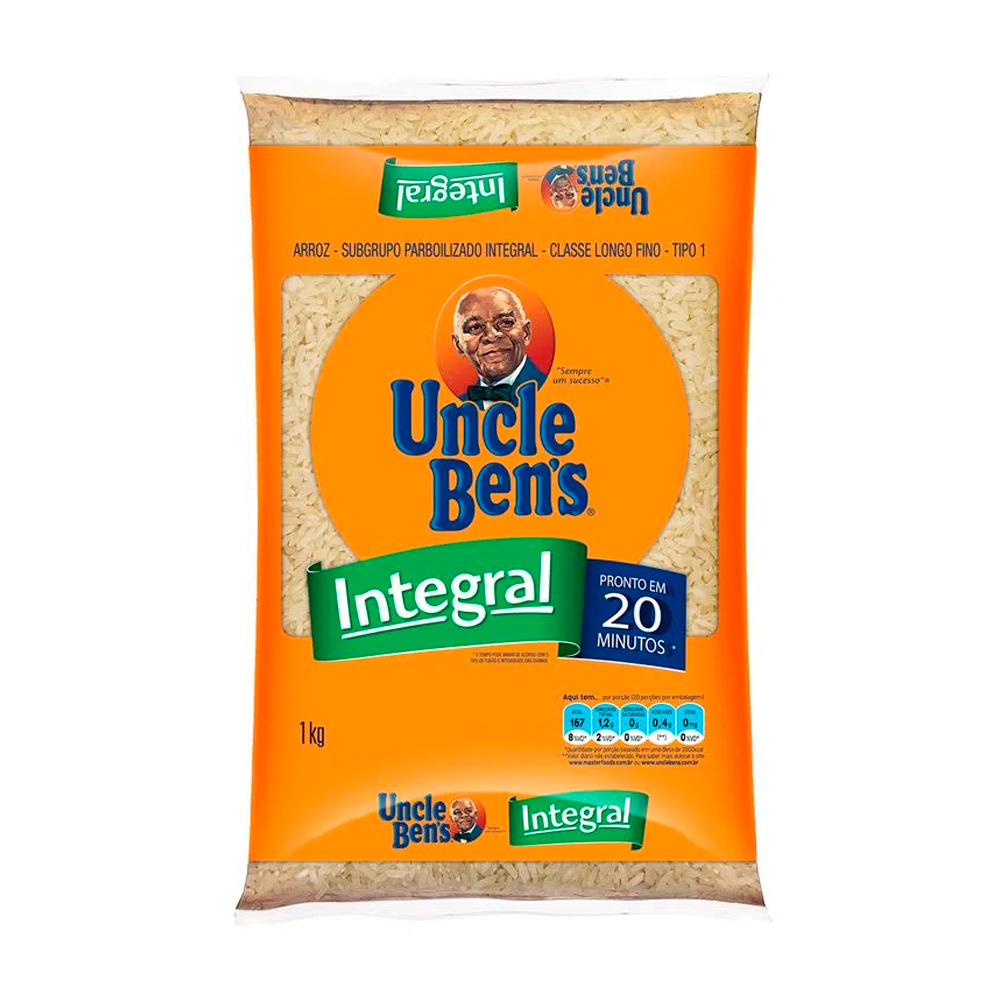 UNCLE BENS ARROZ INTEGRAL 1KG FD/30
