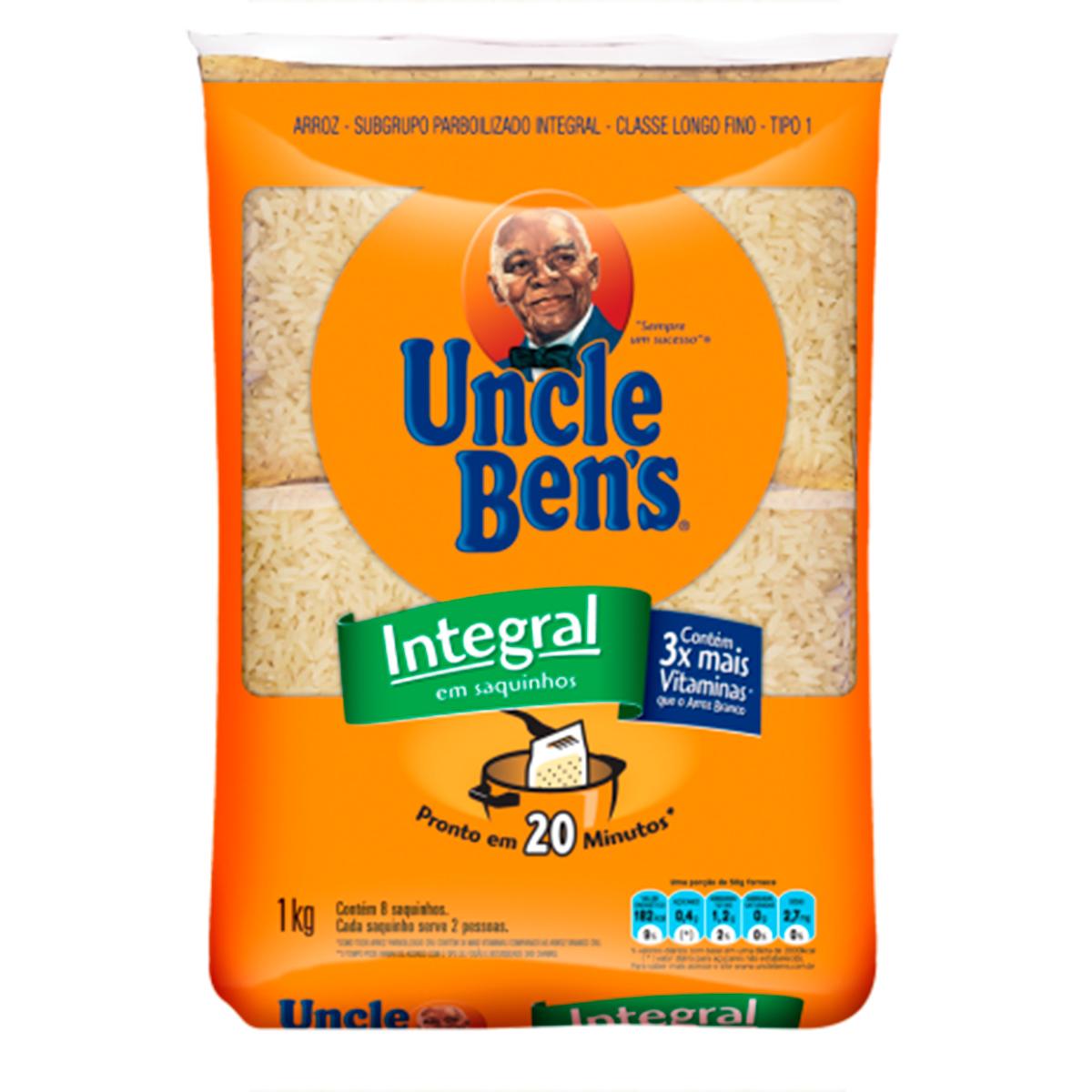 UNCLE BENS ARROZ INTE SAQUINHO 1KG FD/30