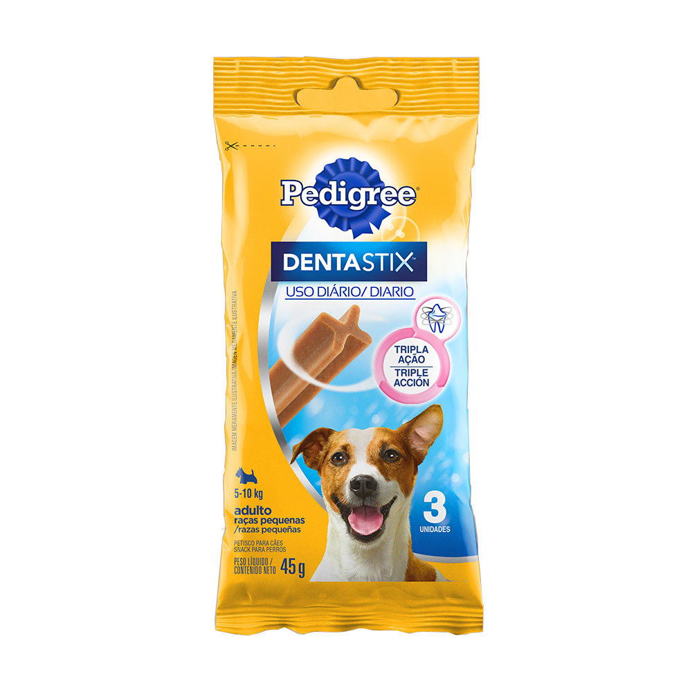 PED DENTASTIX R PEQUE 3 STICKS 45G CX/18