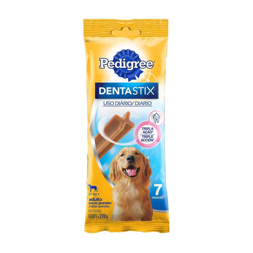 PED DENTASTIX R GRAN 7 STICKS 270G CX/10