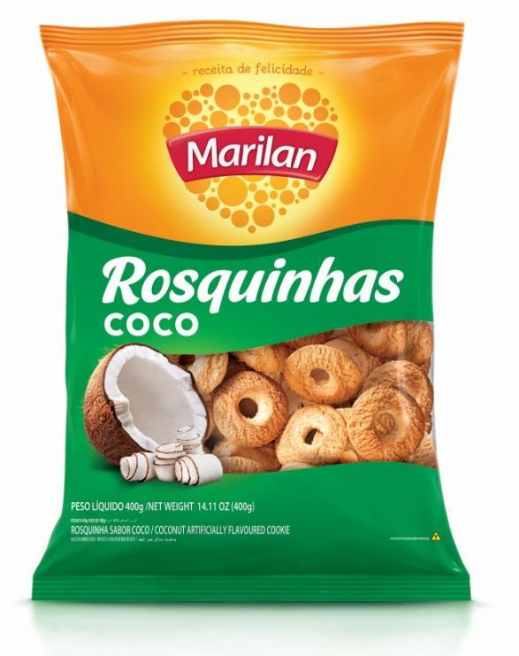 MARILAN ROSCA COCO 400GR CX/24