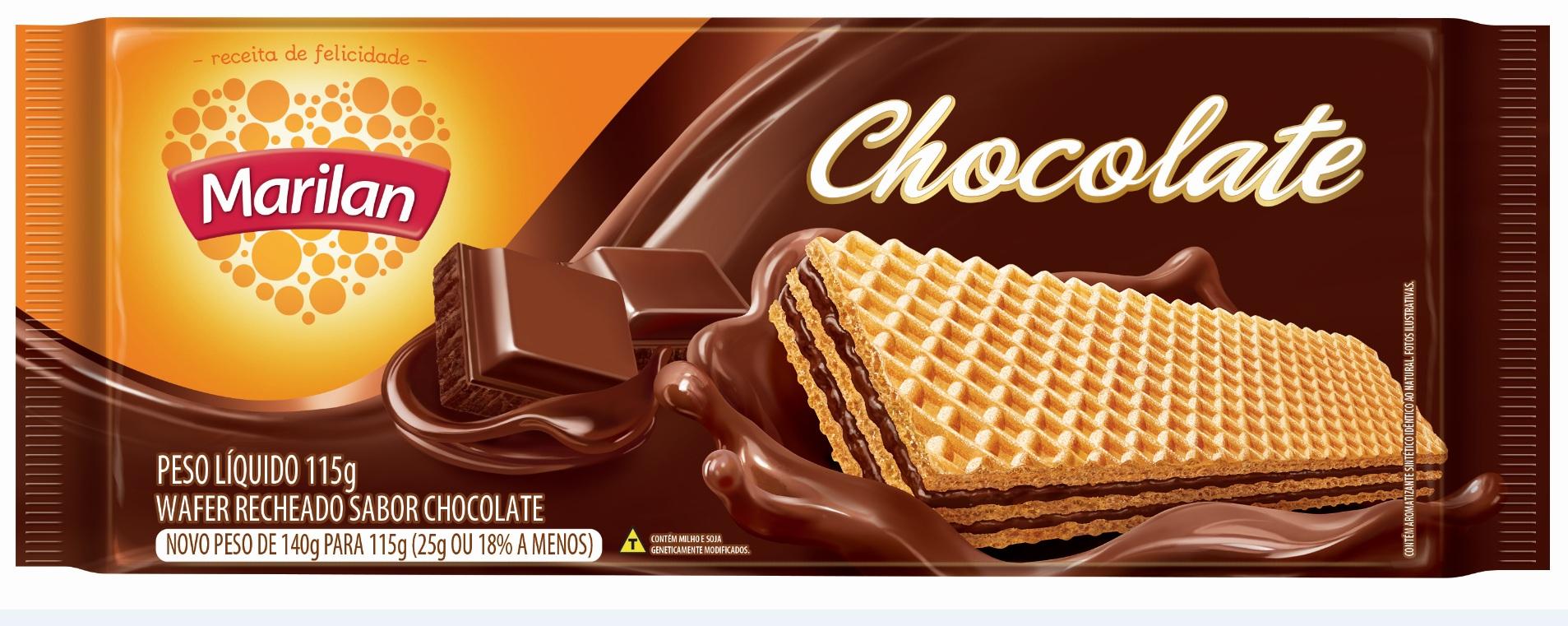 MARILAN WAFER CHOCOLATE 115GR CX/40