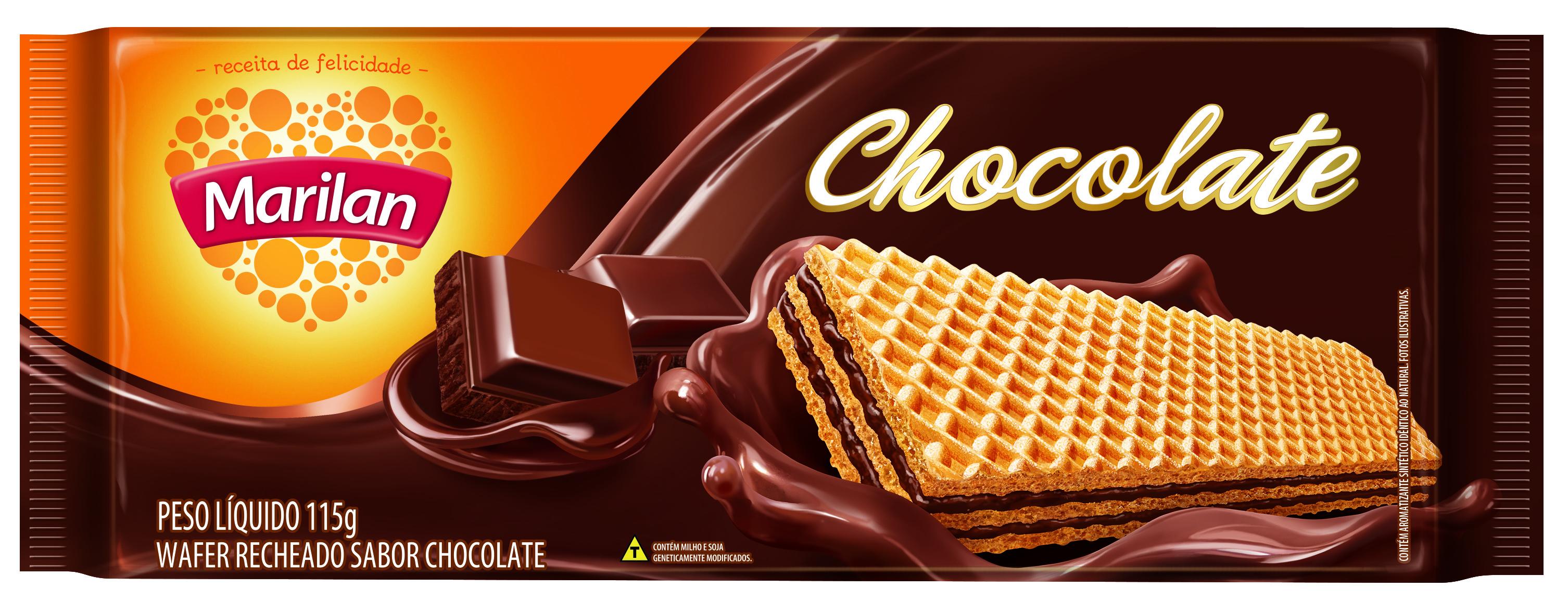 MARILAN WAFER CHOCOLATE SUICO 115GRCX/40
