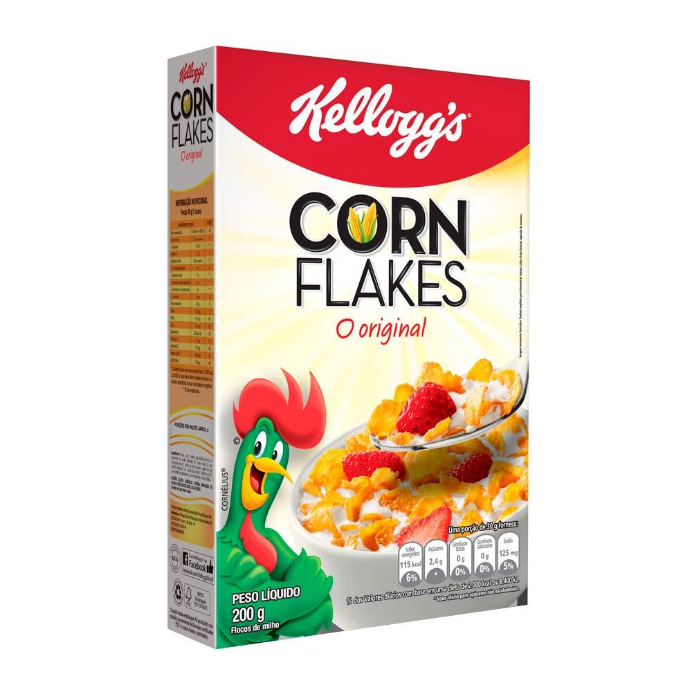 KELLOGGS CORN FLAKES 200GR CX/36