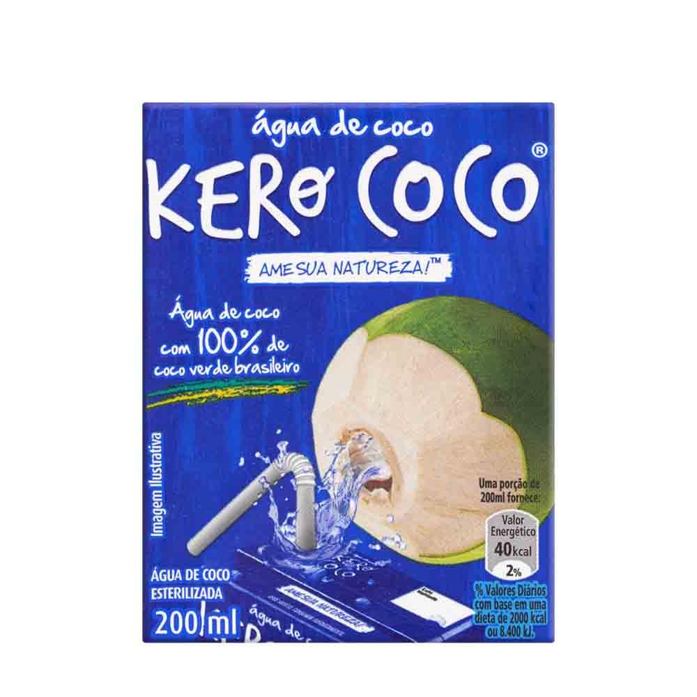 AGUA DE COCO KEROCOCO 200 ML CX/27