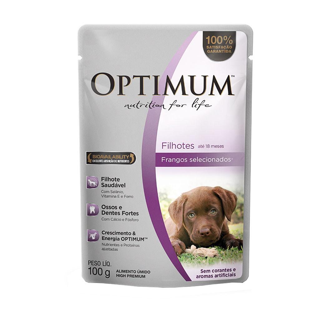 OPTIMUM DOG SACHE F. FRANGO 2X18X100GR