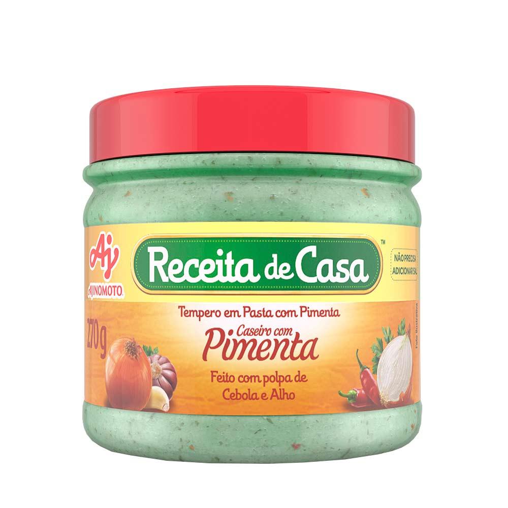 RECEITA CASA CASEIRO C/PIM 270GR CX/12