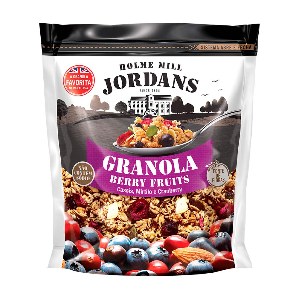 JORDANS GRANOLA BERRY FRUITS 400G CX/4