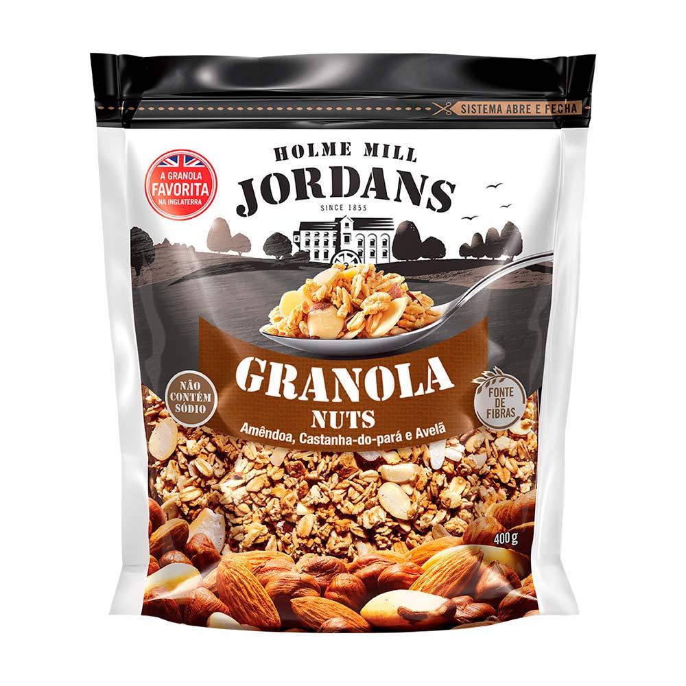 JORDANS GRANOLA NUTS 400G CX/4