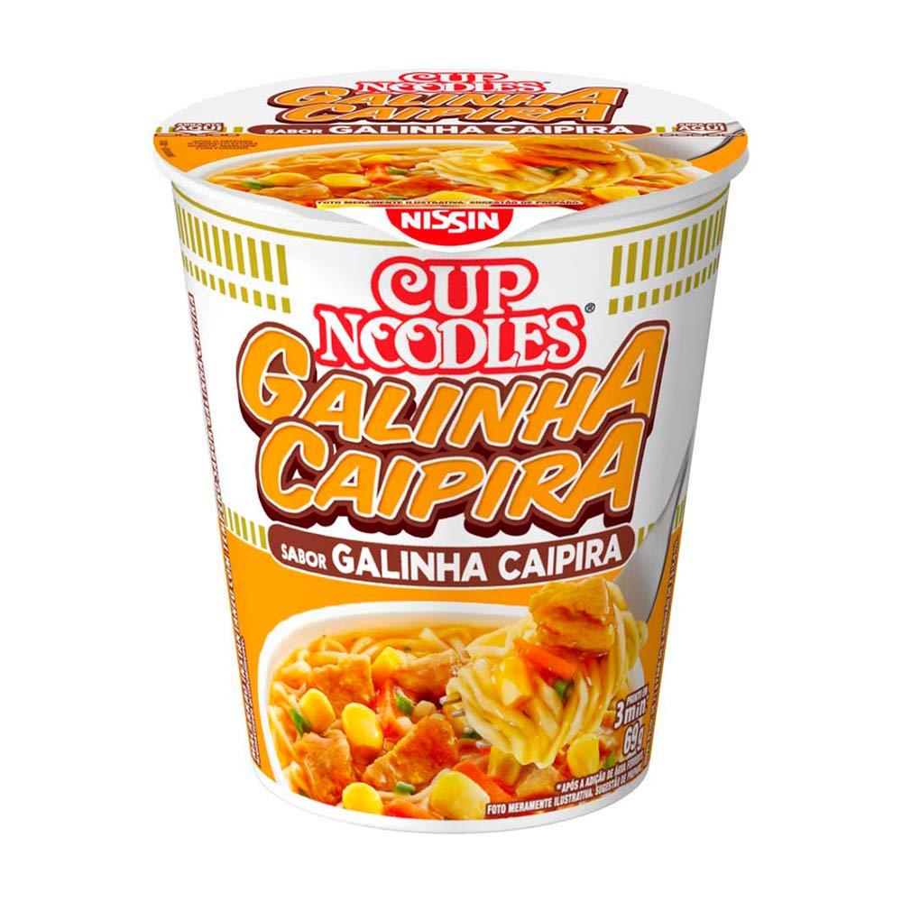 CUP NOODLES GALINHA CAIPIRA 69GR CX/24